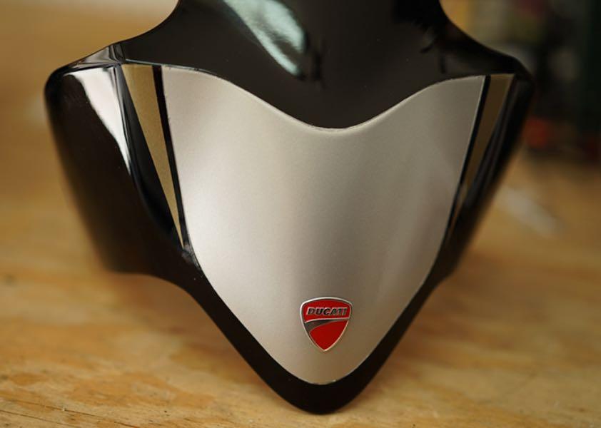 Bullitt 821: Ducati Monster 821 Build rear tailpiece