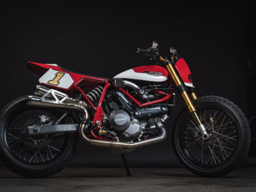 Limited Edition Ducati Street Tracker by Fuller Moto