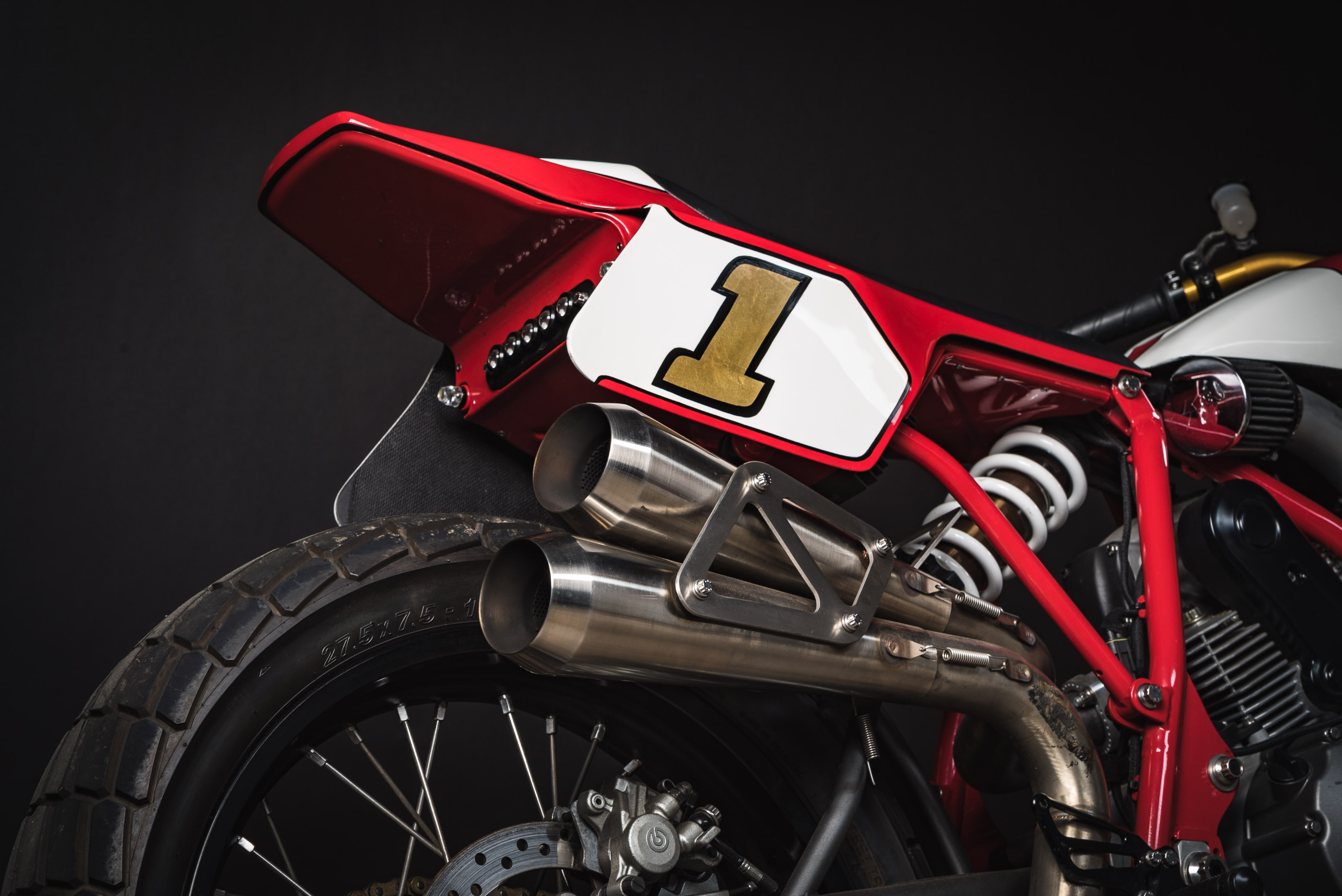 Fuller Moto Ducati Tracker - Cone Engineering