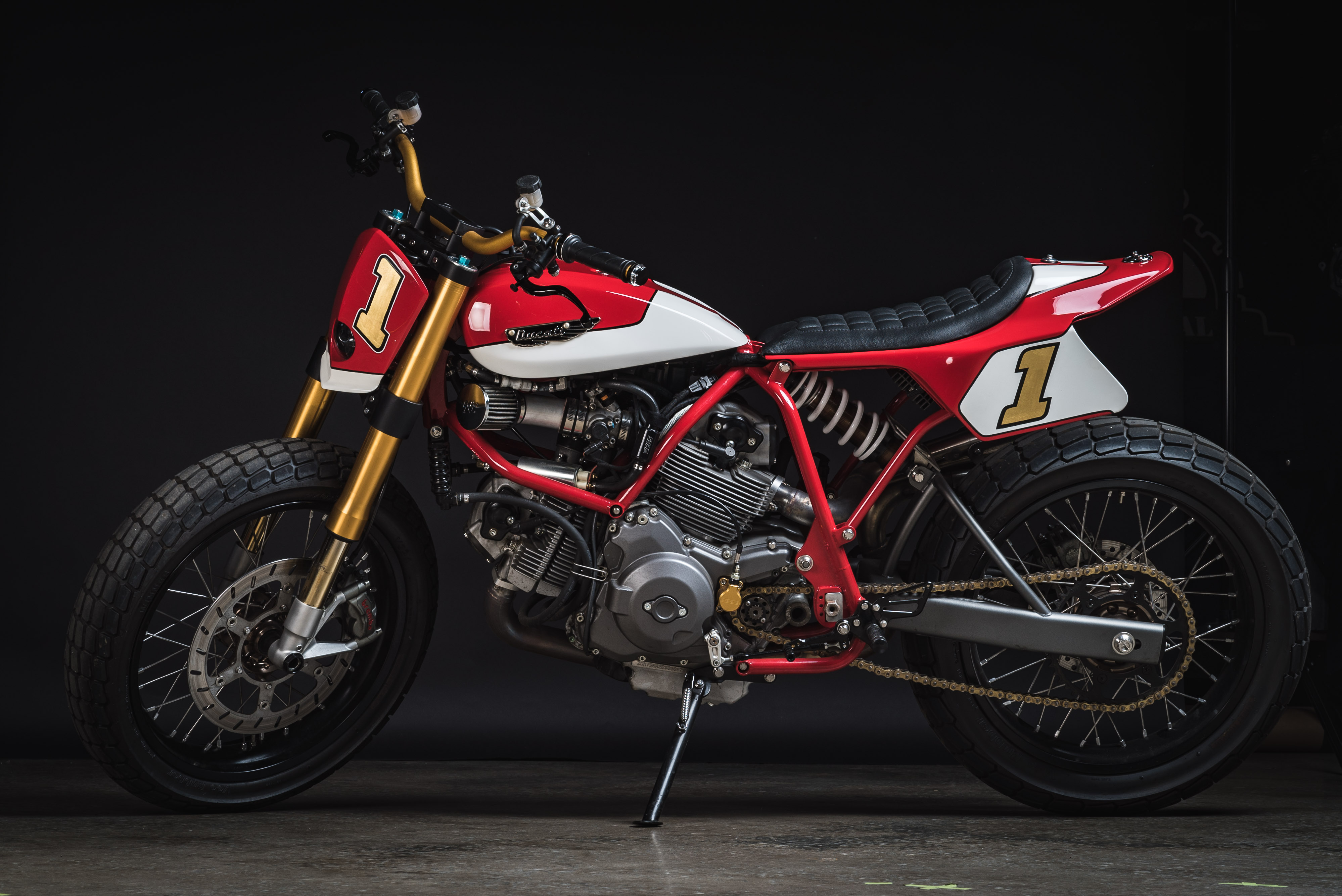 Fuller Moto Ducati Tracker - Dubya USA wheels