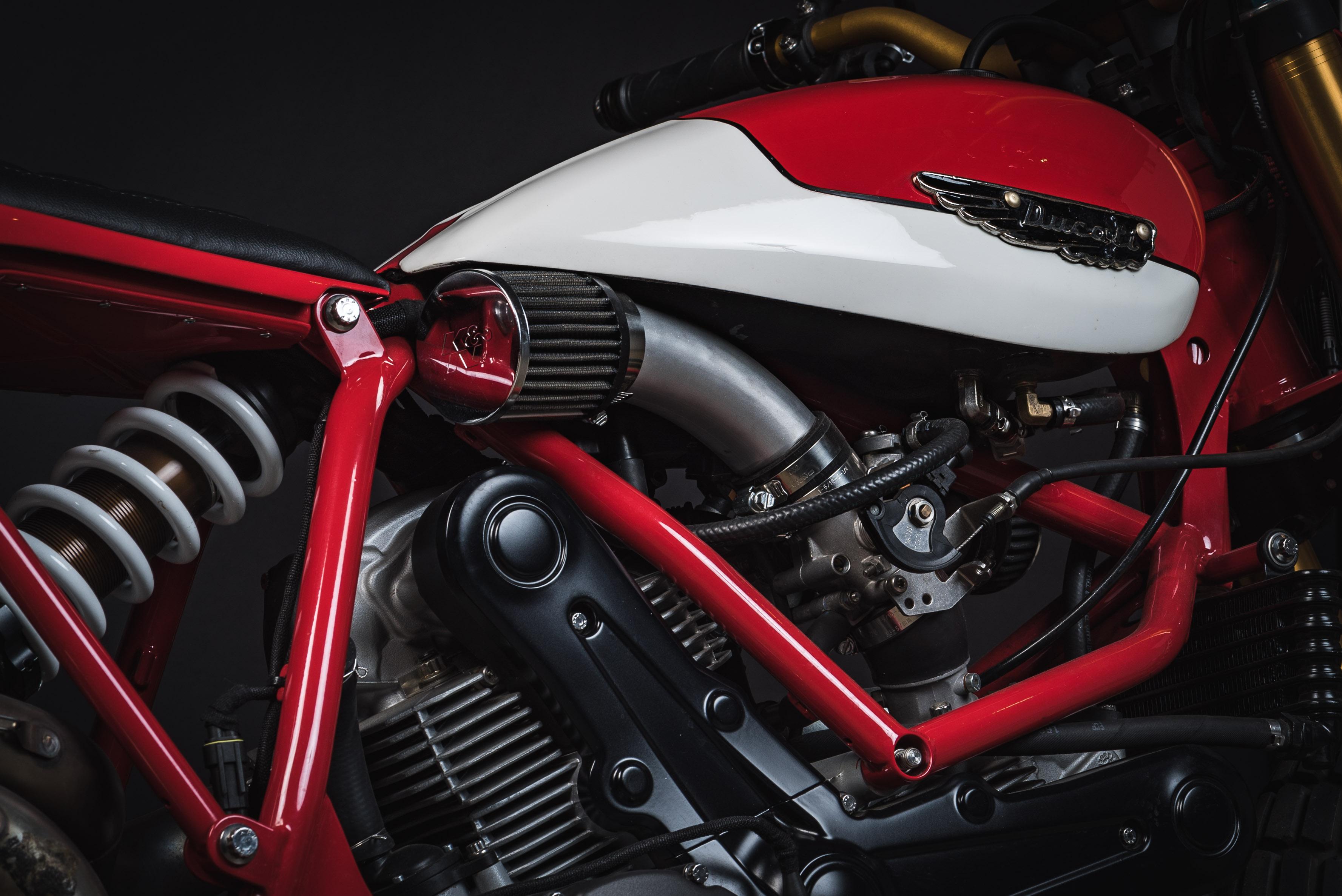 Fuller Moto Ducati Tracker - Lloyd Brothers