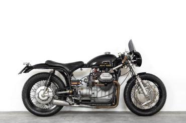 Vintage Moto Guzzi V7 Special 750 'Lama Nera' by Ruote Fiere
