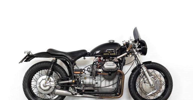 Moto Guzzi V7 Special 750 'Lama Nera' by Ruote Fiere