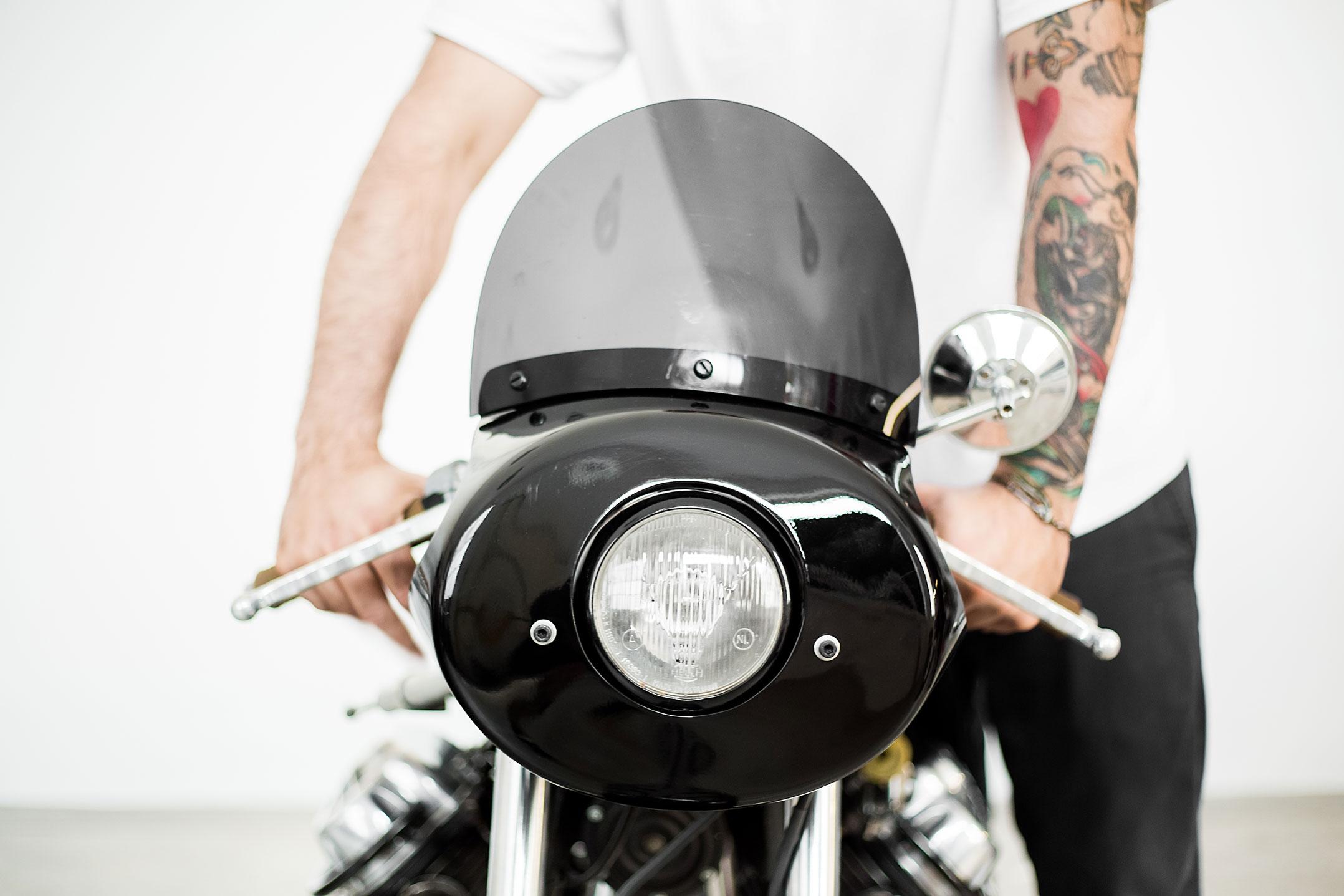 Moto Guzzi, Route Fiere, Vintage Motorcycle, Cafe Racer, Moto Guzzi V7