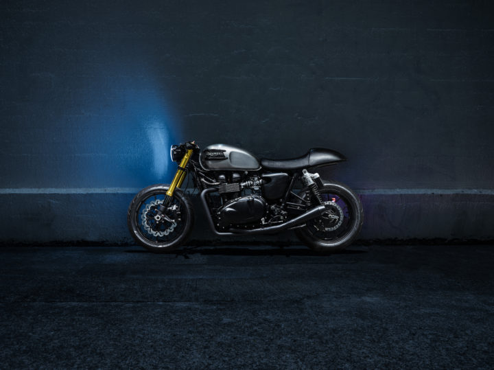 Bullitt OG :: Triumph Cafe Racer Custom Build