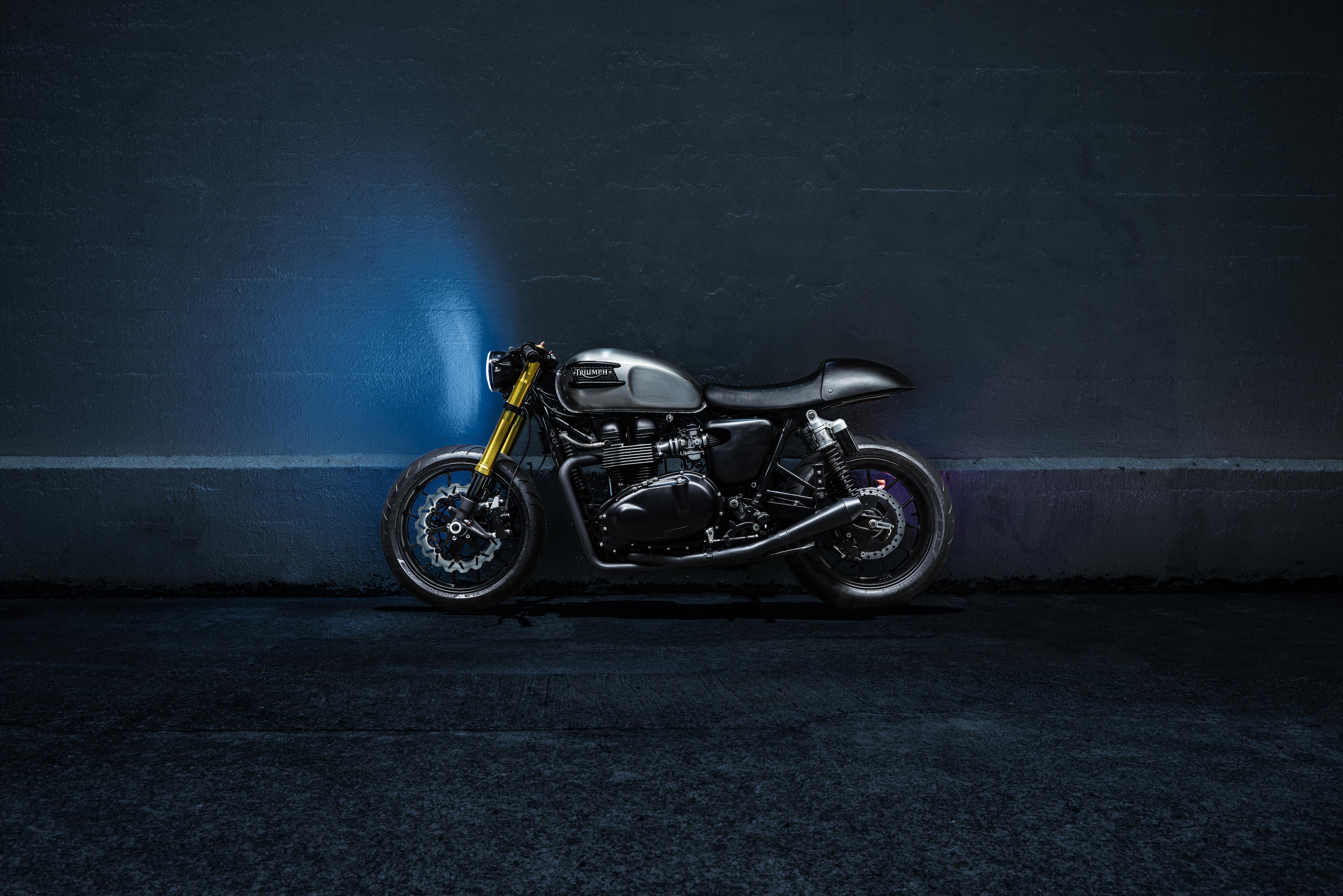 Bullitt OG :: Triumph Cafe Racer Custom Build - The Bullitt