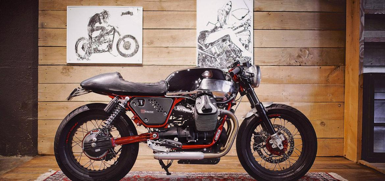 Moto Guzzi V7 racer, cafe racer