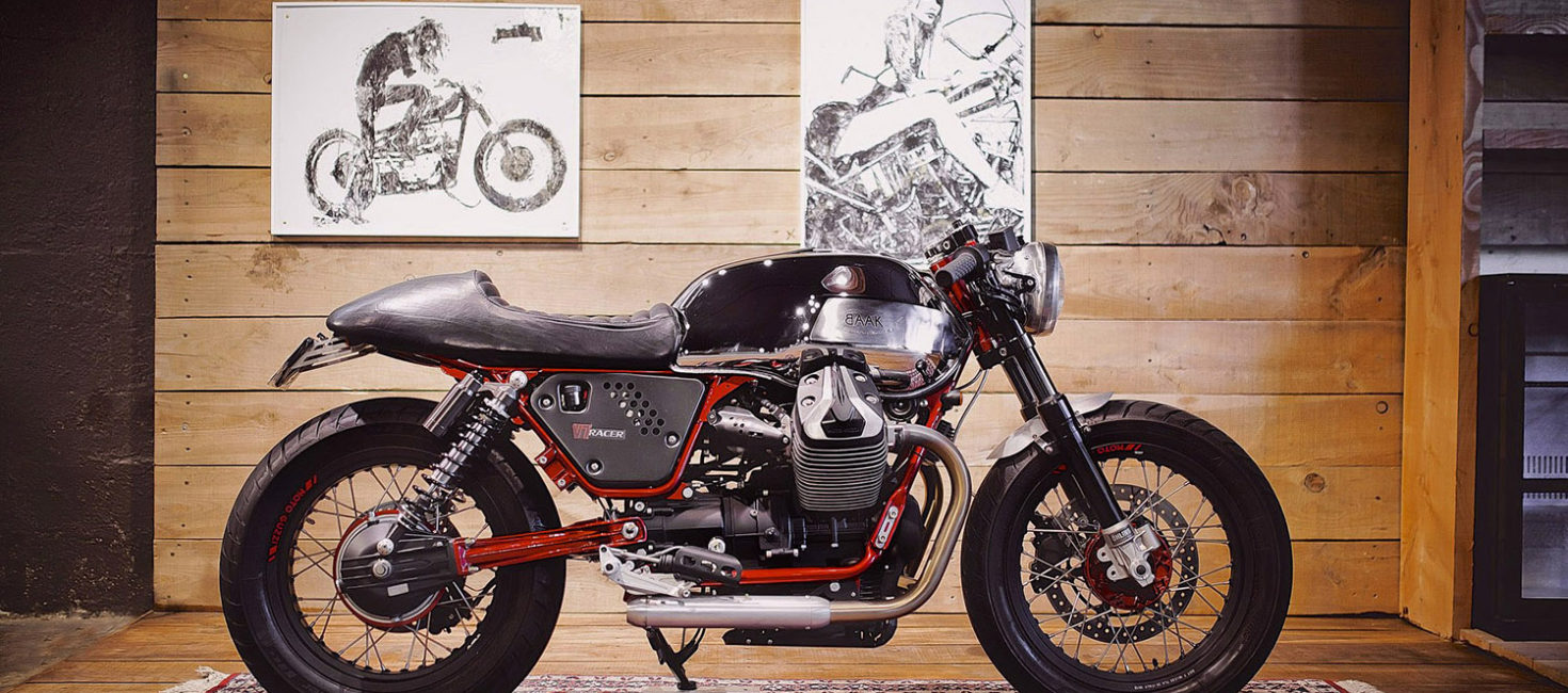 Moto Guzzi cafe racer goodness by BAAK Motorcyclettes