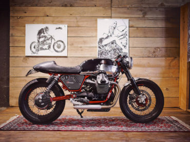 Moto Guzzi cafe racer goodness by BAAK Motorcyclettes