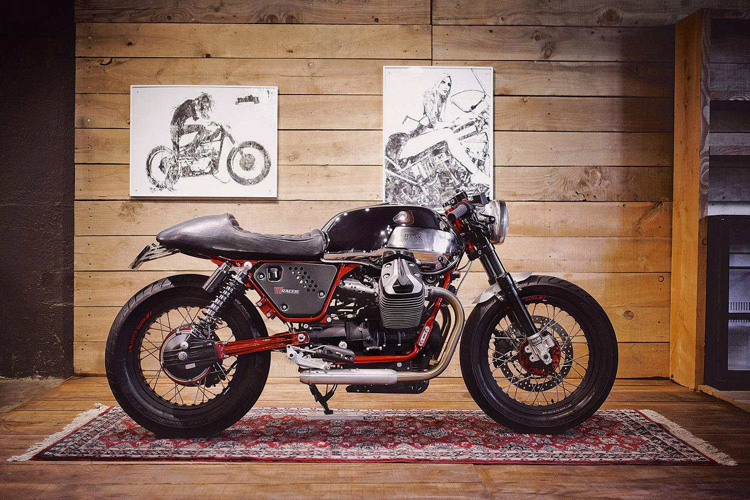 moto guzzi cafe racer goodness by baak motorcyclettes the bullitt. Black Bedroom Furniture Sets. Home Design Ideas