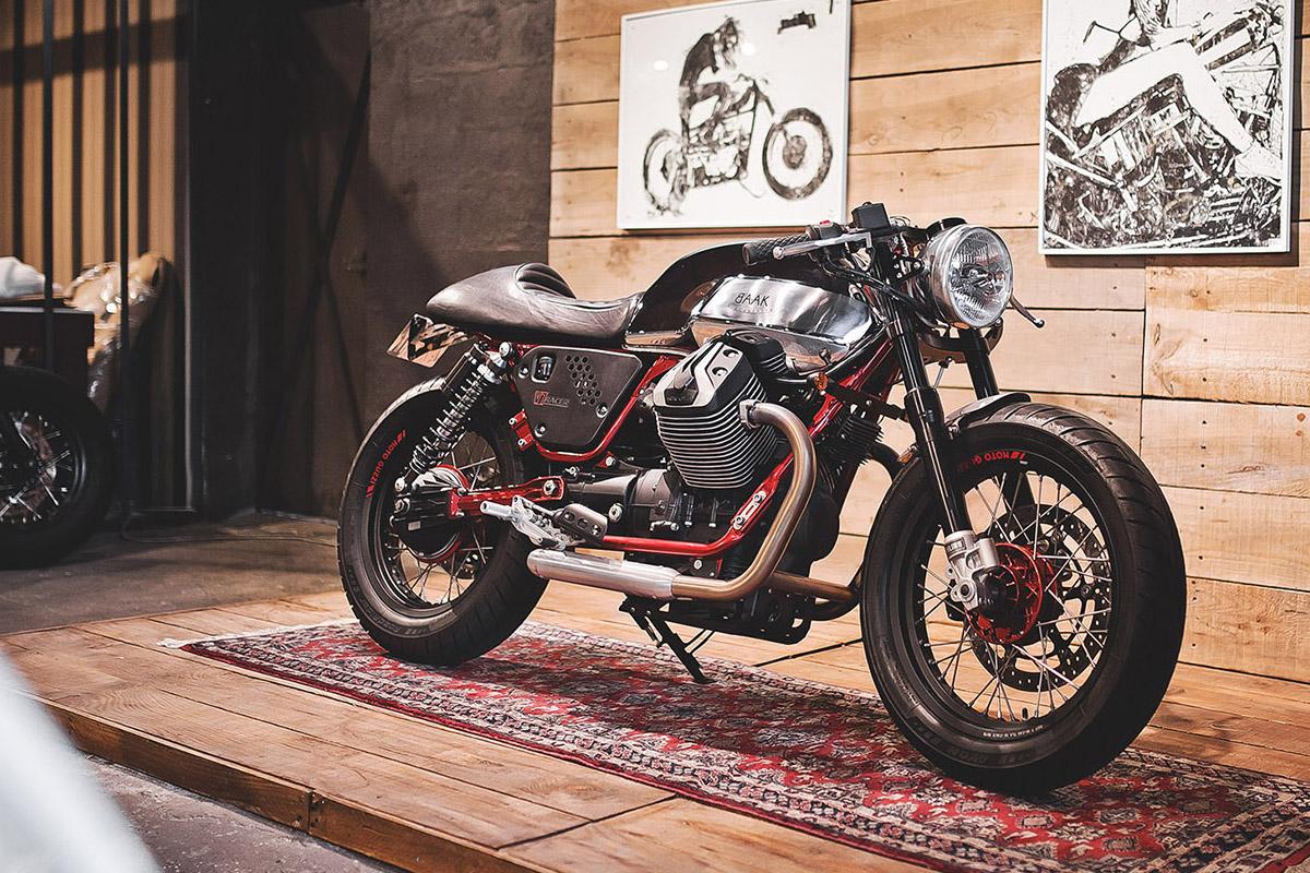 Moto Guzzi, V7 Racer, BAAK motorcycles