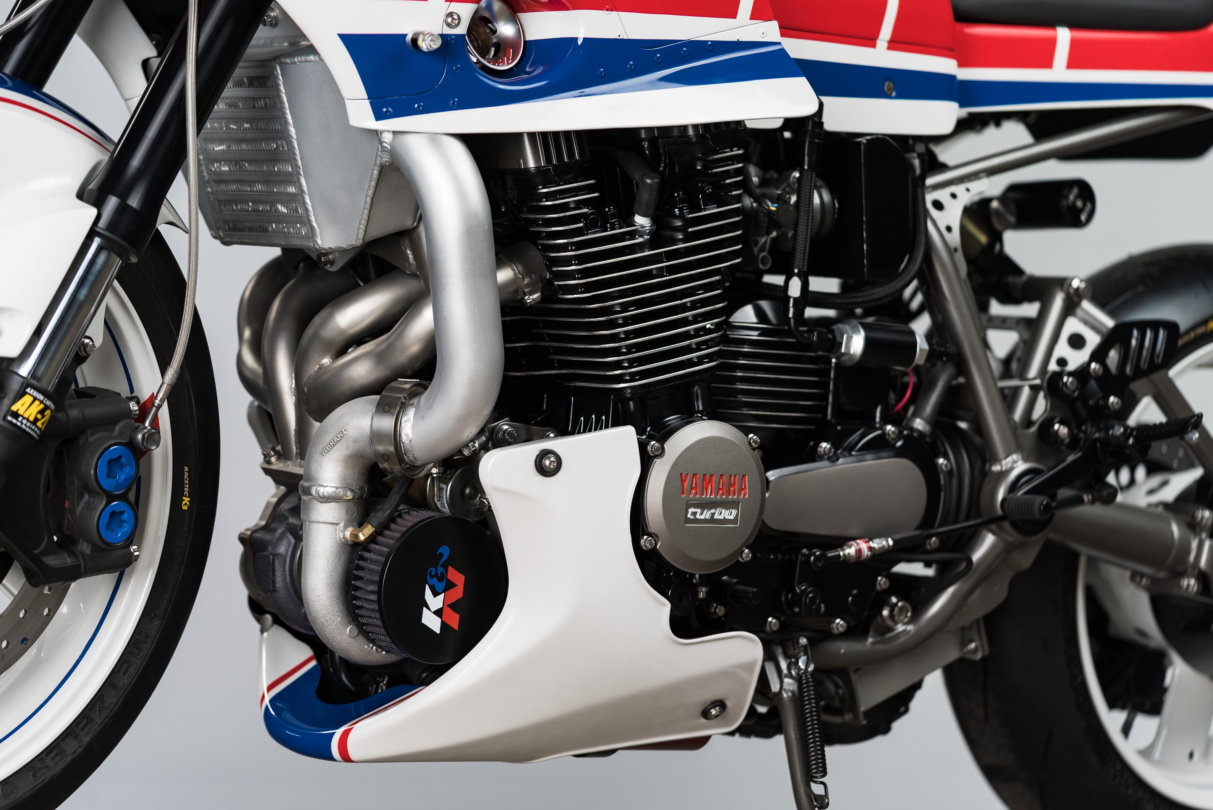 custom Yamaha XJ750 Maxim engine