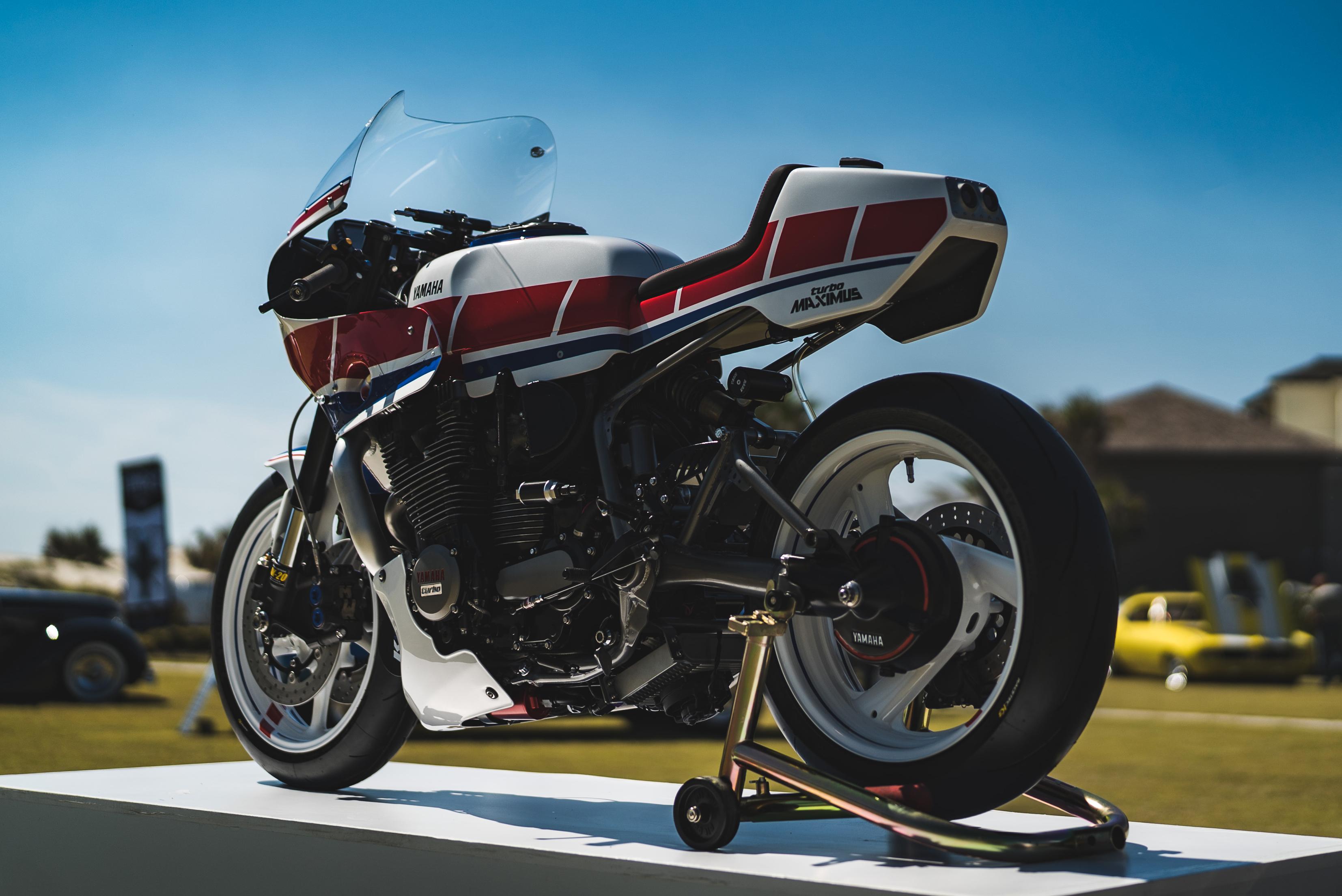 turbo-charged Yamaha XJ750 Maxim