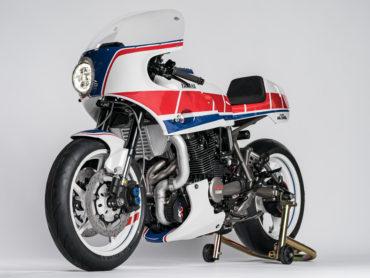'Turbo Maximus' :: a turbo-charged Yamaha XJ750 Maxim
