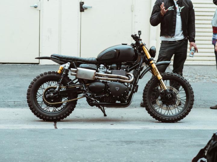 Rugged and Raw: A Triumph Scrambler by Seaweed and Gravel
