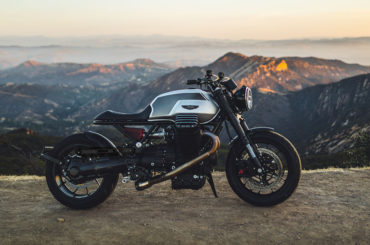 Brutal custom Moto Guzzi GTM-01 <br>by GT MotoCycles