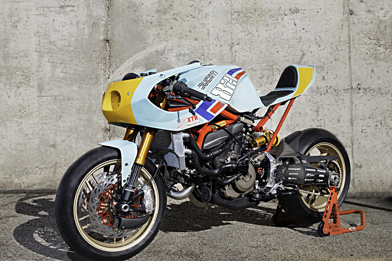 Ducati Monster 821 Pantah by XTR - The Bullitt