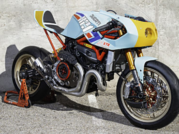 Ducati Monster 821 Pantah by XTR
