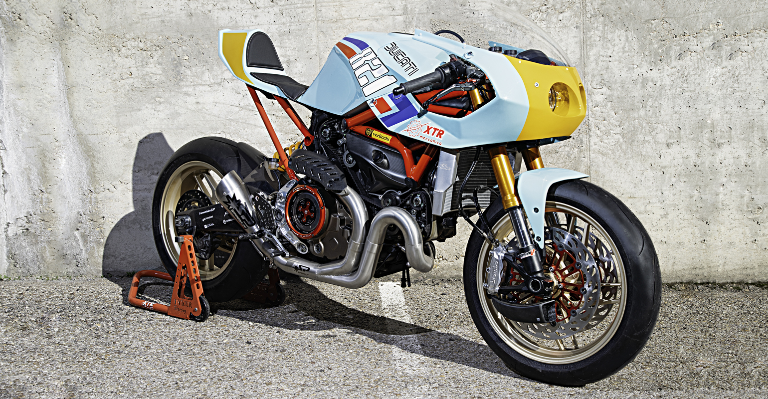 Ducati Monster 821 Pantah by XTR - The Bullitt