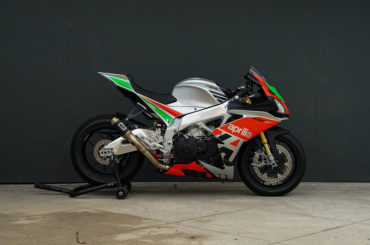 Bullitt LE – Our Aprilia RSV4 RF Limited Edition custom