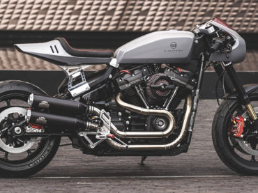 The Blacktrack Motors BT-03 Harley Cafe