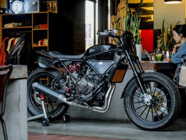 The Framer FZ-07 Tracker by Deus