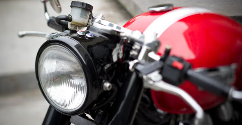 Benjie's Cafe Racer :: accessories for Triumph modern classics