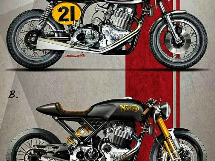 Norton Cafe Racers :: Old and New
