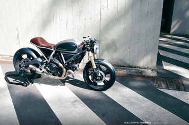 Custom Ducati Scrambler by Holographic Hammer