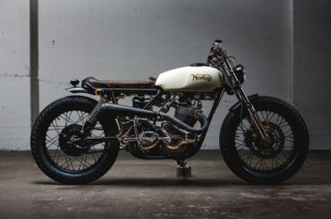 Custom Norton Commando by Federal Moto