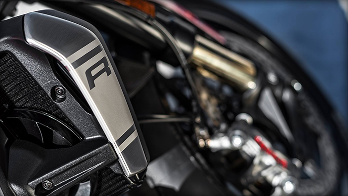 Ducati Monster 1200 R radiator