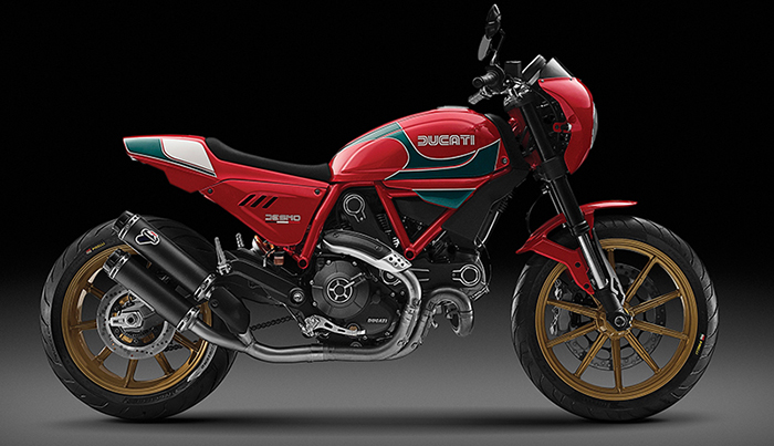 Mike Hailwood Limited-Edition Ducati Scrambler