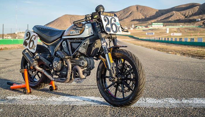 Ducati Scrambler Racer by Heath 'The Chief' Cofran