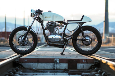 1967 Ducati 350 Widecase by Adam McCarty