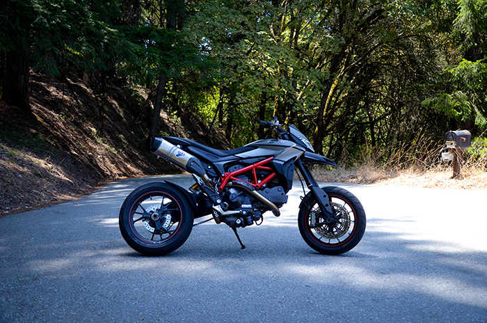 Bullitt SP - custom Hypermotard SP