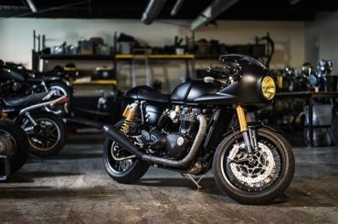 Custom Triumph Thruxton R :: Through the Lens