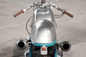 Sabotage Cycles' Imola 860 GT exhaust