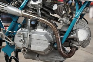 Sabotage Cycles' Imola 860 GT engine