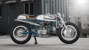 Sabotage Cycles' Imola 860 GT Paul Smart Blue Frame