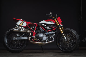 Limited Edition Ducati Street Tracker by Fuller Moto