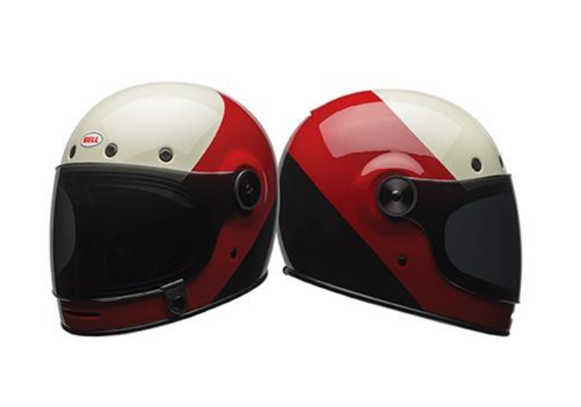 Bell Bullitt Triple Threat Helmet, great for cafe racing