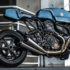 'The Indigo Flyer' Ducati Monster 1200 S By Rough Crafts