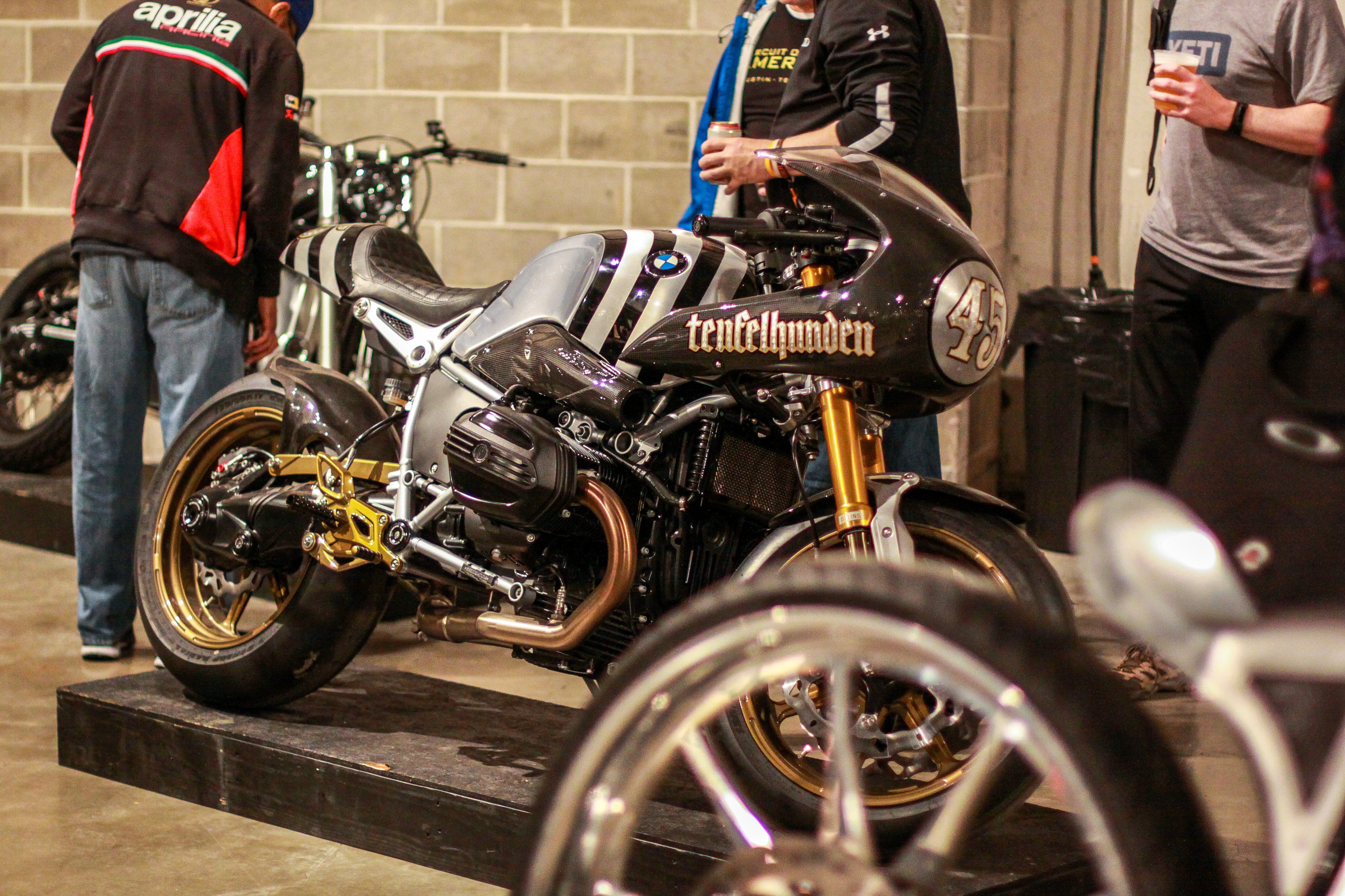 RSD custom BMW at Handbuilt Motorcycle Show 2019