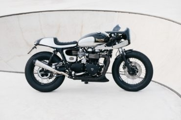 "Triumph Cafe Racer ""Blimburn"" by Tamarit Motorcycles"