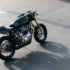 Triumph T140 Cafe Racer by Woolie of Deus Ex Machina