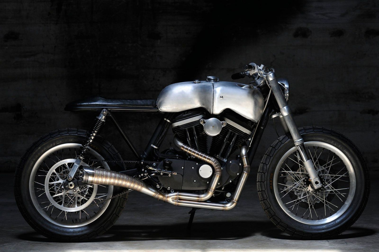 The Hardley custom Harley-Davidson