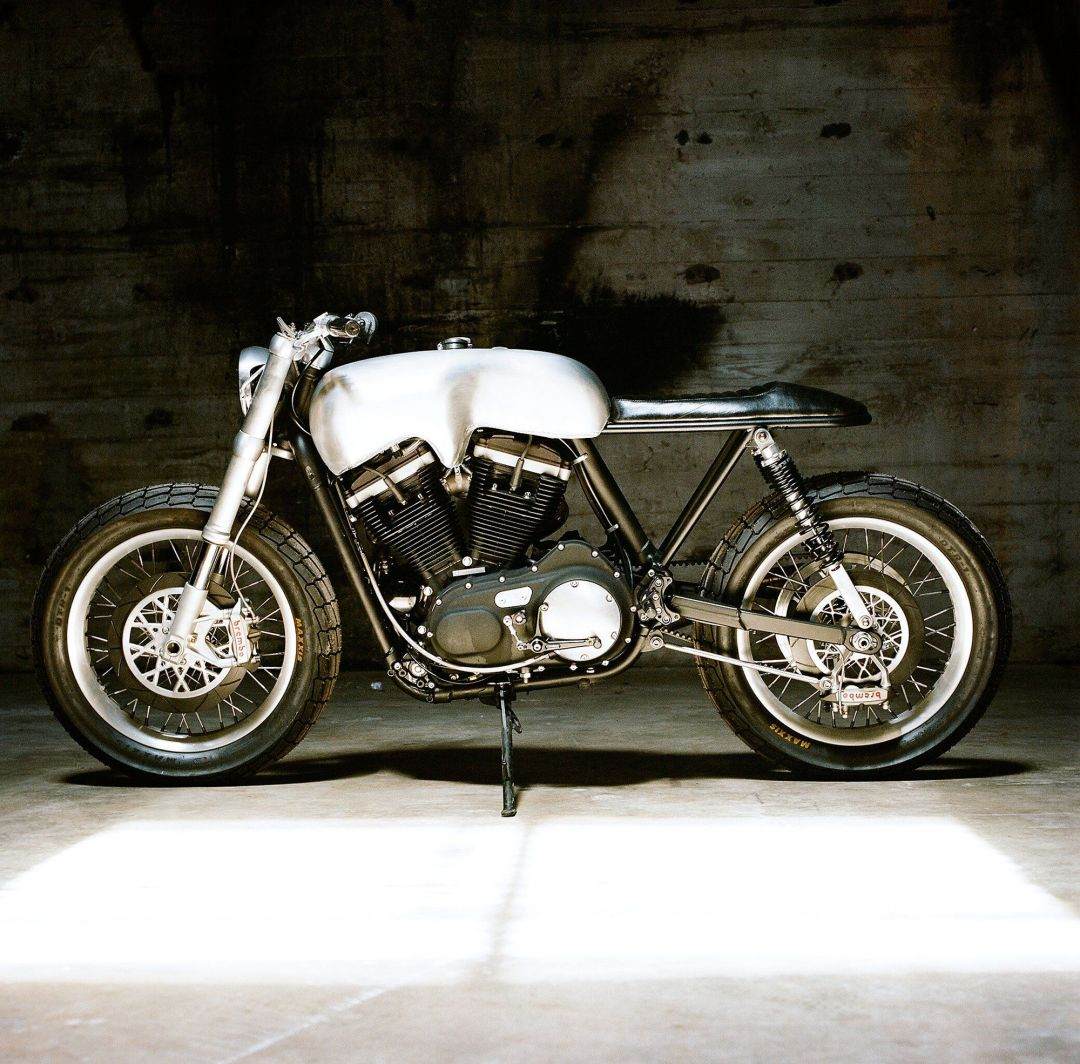 The Hardley custom Harley-Davidson by Revival Cycles left side