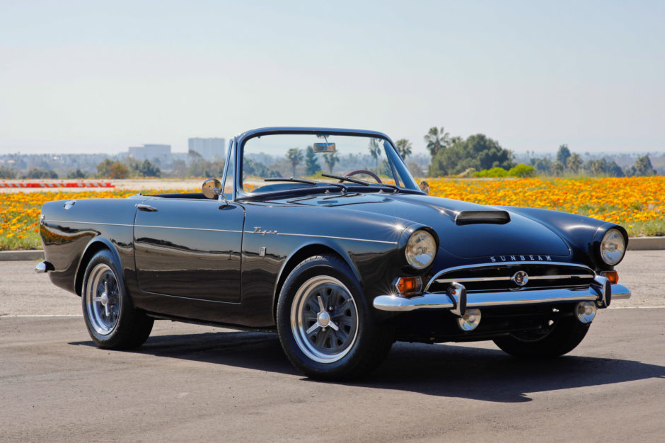 A 1964 Sunbeam Tiger.