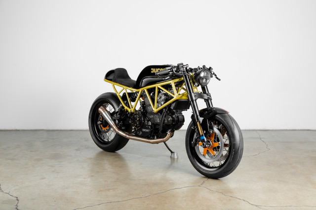 Lossa Engineering's Ducati 900SS cafe racer