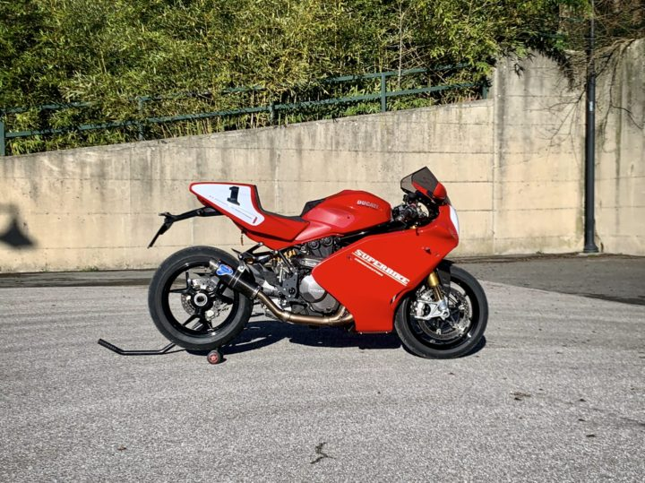 Ducati Monster 1200S…Superbike?